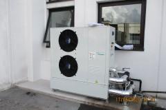 Pompa di calore con accumulo inerziale